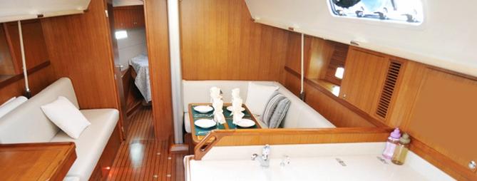 am nagement int rieur de bateau. Black Bedroom Furniture Sets. Home Design Ideas