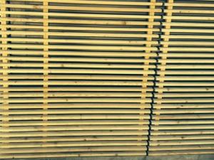 bardage bois naturel pour brise-soleil