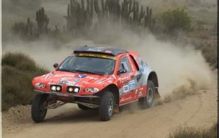 voiture du Dakar 2013 sponsorisée par BDR