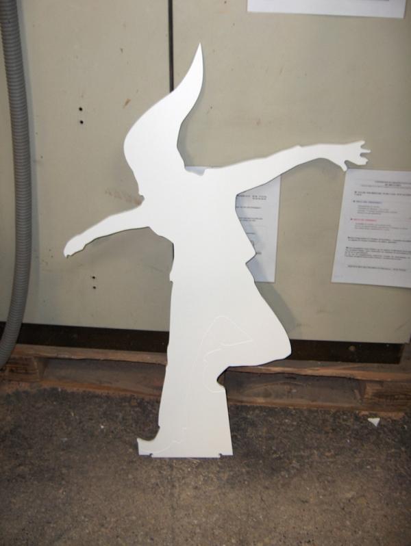 décoration vitrine ou stand d'exposition