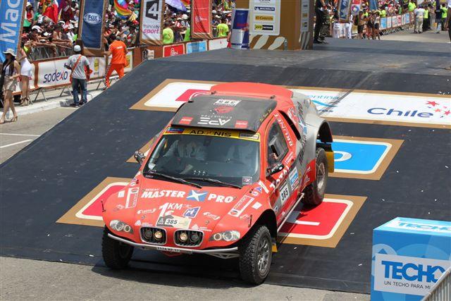 Départ de l'équipage sponsorisé par BDR sur le Dakar 2013