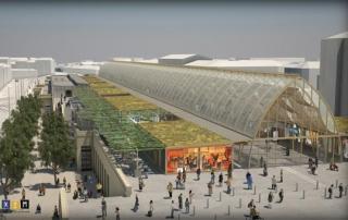 nouvelle gare de Montpellier