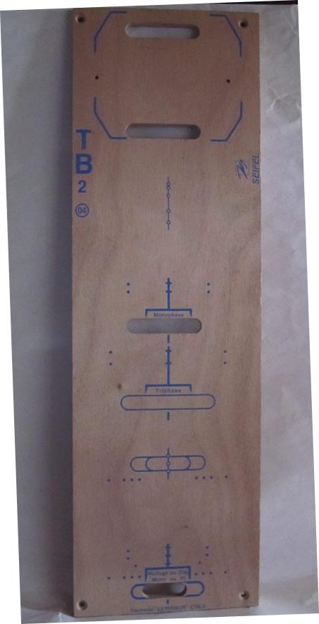 platine bois coffret chantier