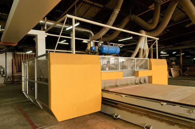 usinage panneau bois composite